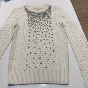 MICHAEL KORS   Embellished Knitted sweater NEW